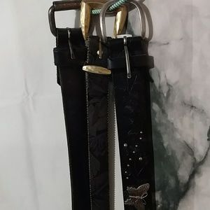 Black medium belt bundle